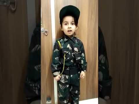 Fancy Dress-Army Officer