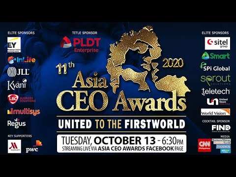 Asia CEO Awards 2020   Full Event Video