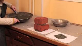 видео Предел прочности кирпича при сжатии и изгибе