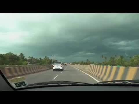 Vallarpadam Container Terminal (ICTT) Road, Kochi, Kerala, April 2015 - Full HD (1080p)