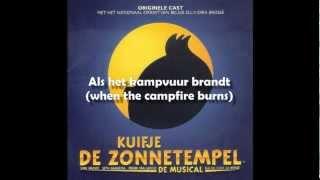 16 - Kuifje de Zonnetempel - Als het kampvuur brandt [Tintin Musical - English Translation]