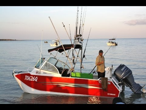North Island Fishing Trip Via King Ash Bay NT 2013