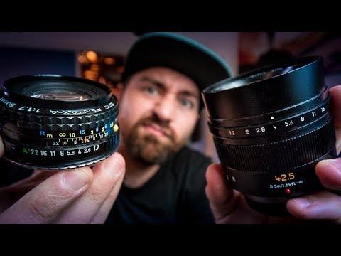 $20 Vintage Lens Vs $1200 New Lens