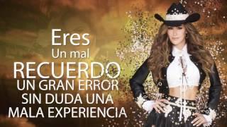 Ninel Conde - Tú No Vales La Pena (Official Lyric Video)