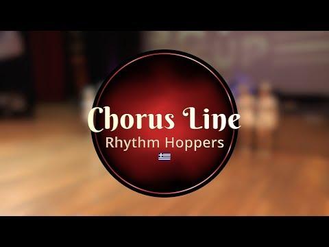 Rhythm Hoppers Chorus Line @Savoy Cup 2019