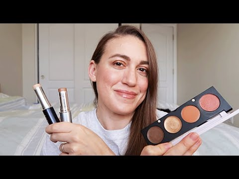 Cream Makeup GRWM // Vapour Beauty, The Organic Skin Co, Au Naturale
