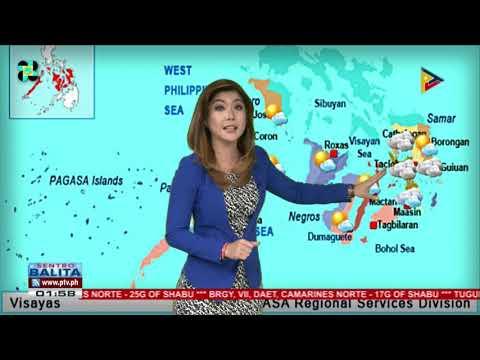 PTV INFO WEATHER: LPA, namataan sa Silangang bahagi ng Eastern Samar