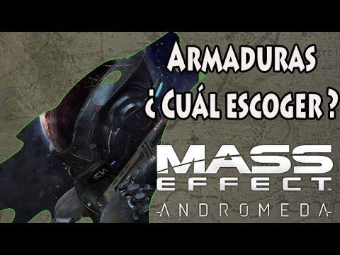 Mass Effect Andromeda - 5 Armaduras - Consejos en Español