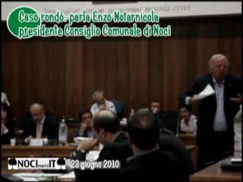 consiglio comunale di noci bari caso rond la parola