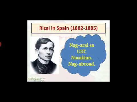 Rizal the Traveler : Going to Europe