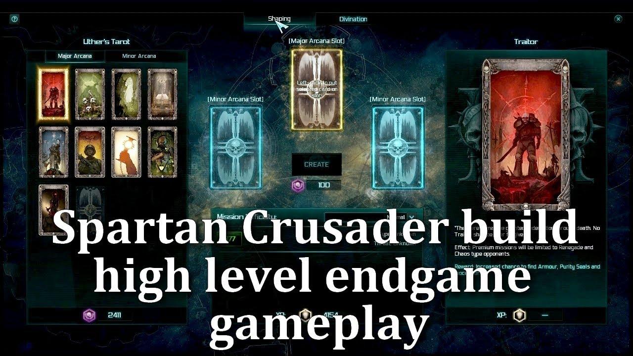 Warhammer 40k Martyr - High level gameplay Spartan Crusader build