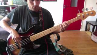 Rage Against The Machine - Sleep Now In The Fire - Bass Cover
