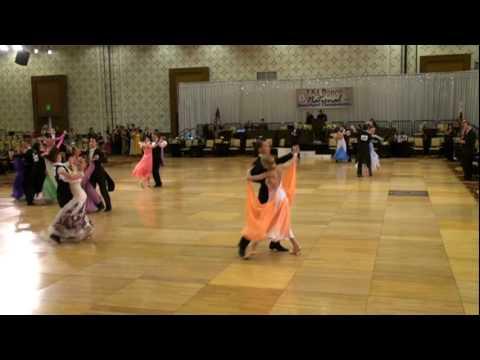 USA Dance 2010 Nationals Alex and Rachel, quickstep youth novice