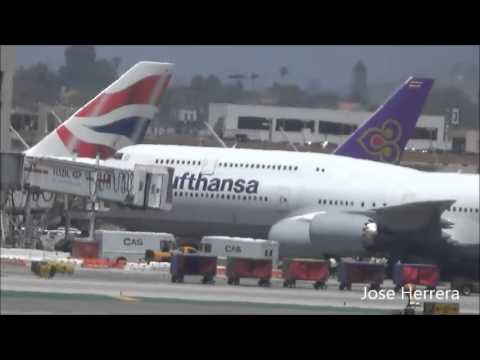 Plane Spotting @ LAX Part 29 Special Edition 1 Hour Long Version 5