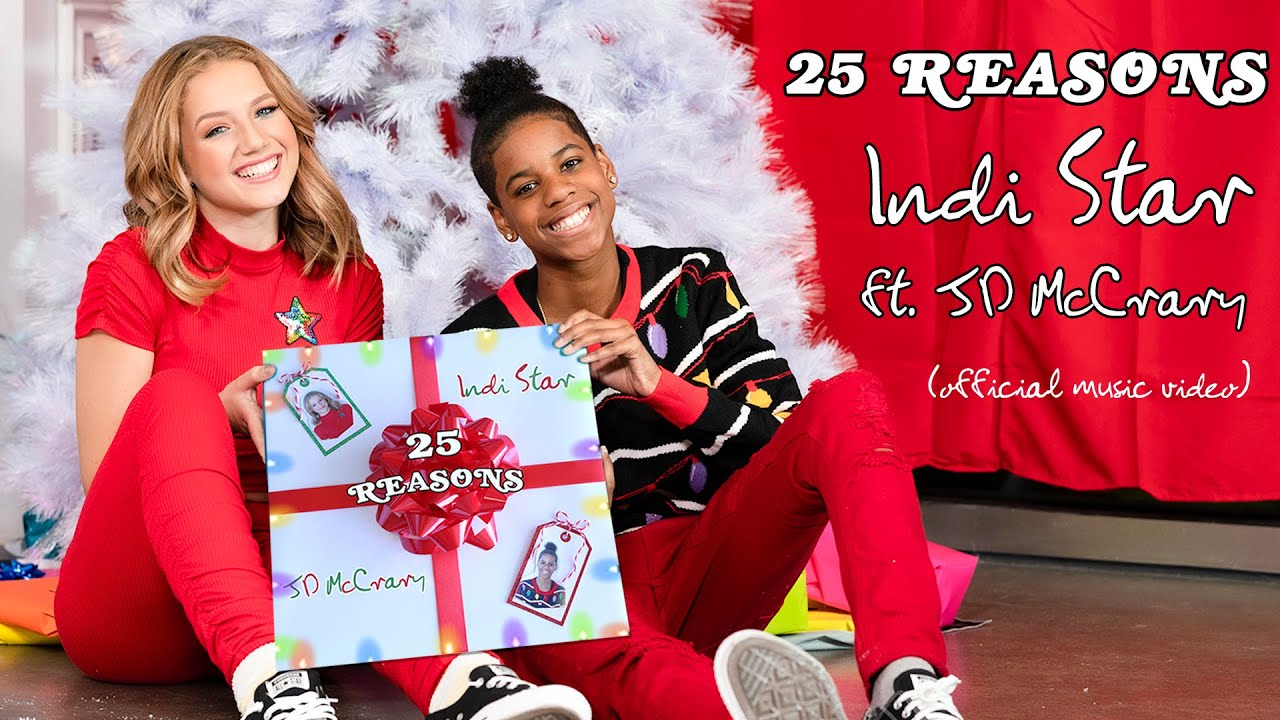25 Reasons - INDI STAR ft. JD MCCRARY (Official Music Video Holiday 2020) ft. Vibe Crew