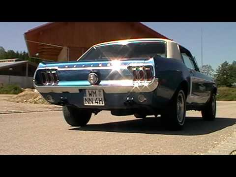 Hqdefault on 1967 Mustang With Dual Exhaust Tips