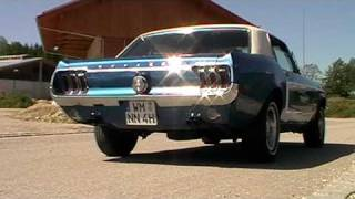 1968 Ford Mustang Exhaust Sound,  302, V8, 5.0, GT, manual 4spd., soundcheck