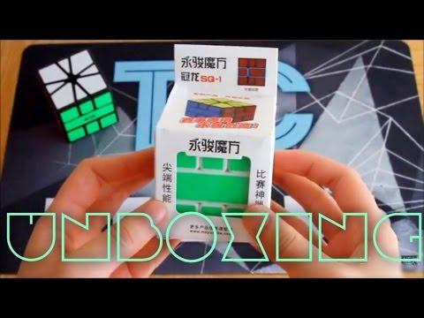 YJ Guanlong Square-1 Unboxing   SpeedCubes.Us