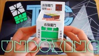 yj guanlong square 1 unboxing   speedcubes us