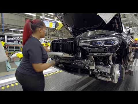 Production of the BMW X7 Assembly