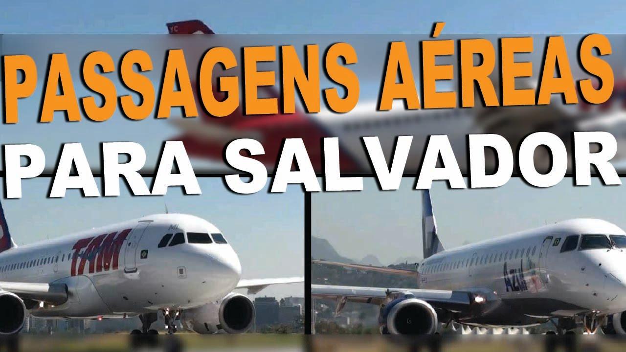 Passagens aéreas para Salvador