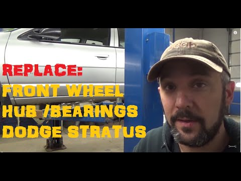 Replace: Dodge Stratus Front Wheel Bearings / Hub Assemblies