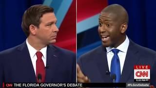 Andrew Gillum Moonwalks From Medicare For All During FL Debate
