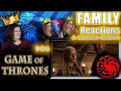 Game of Thrones  106  A Golden Crown  FAMILY Reactions  Fair Use