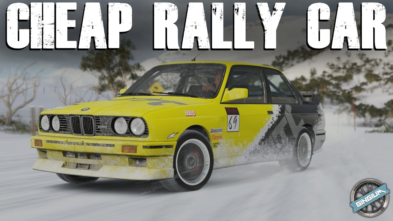 CHEAP RALLY CAR! - 1991 BMW M3 E30 Rally Build || FH3 Blizzard ...