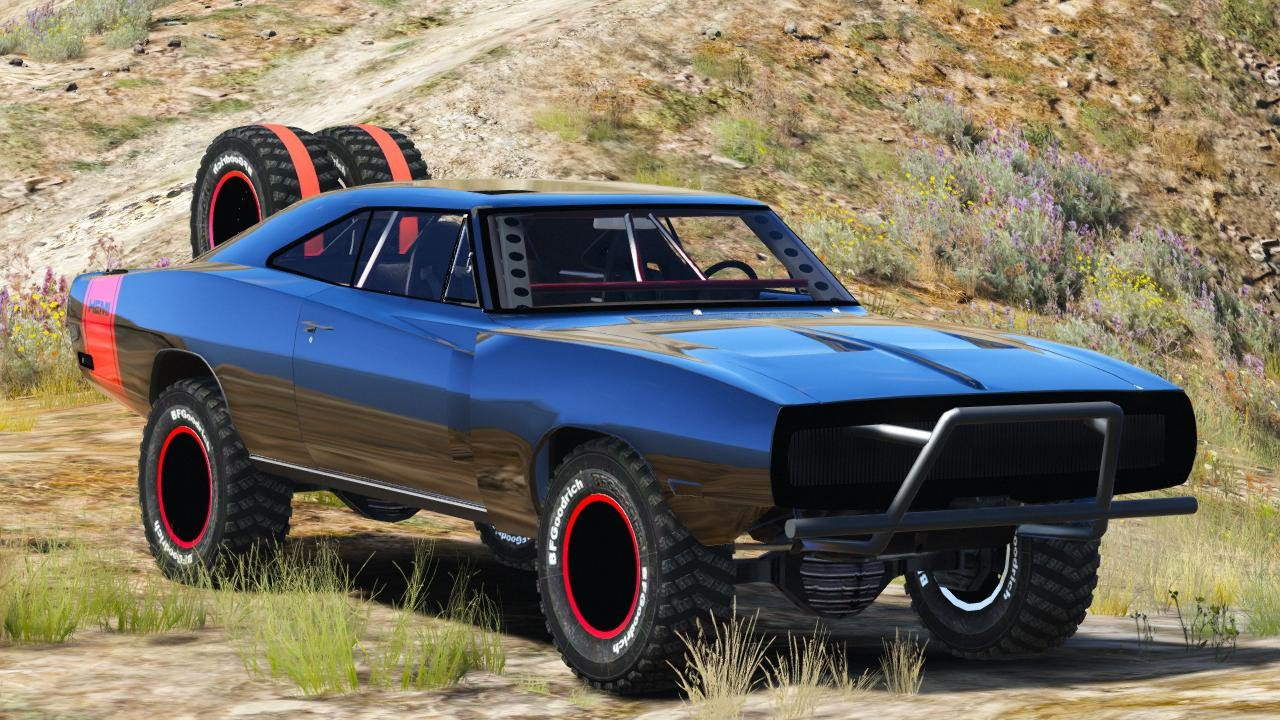Fast And Furious 6 Doms Car Wallpaper Gta V Pc Mods Dodge Charger Off Road Fast Amp Furious 7