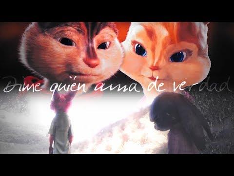 Alvin x Brittany ♥ Nick x Judy | Dime quién ama de verdad (Alvin y las ardillas - Zootopia)