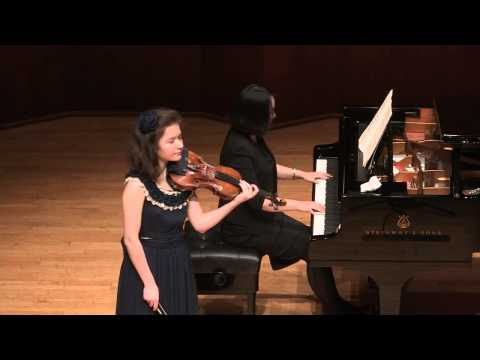 Anna Savkina plays Beethoven - Romance No.1 in G major