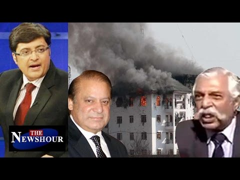 Pampore Encounter - 3 Terror Attacks After Surgical Strike: The Newshour Debate (10th Oct)