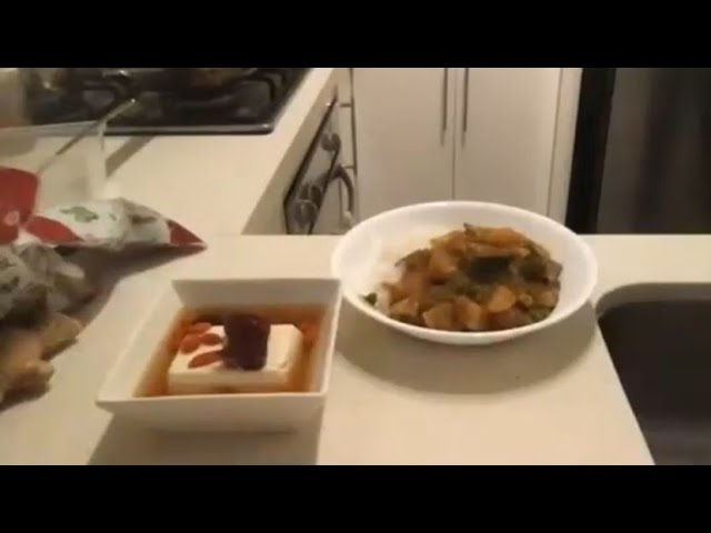 Recipe Club - Golden Japanese Curry & Ginger Tofu Dessert