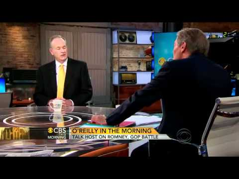 """O'Reilly on Romney, new book """"Killing Lincoln"""""""