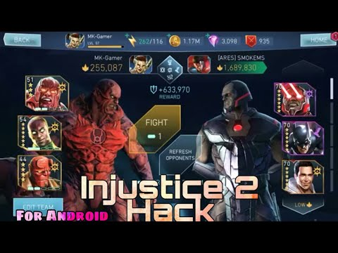 Injustice 2 Hack Mod For Android Latest Version 🔥