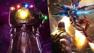 Avengers 4 - Iron Man Forges NEW Vibranium Infinity Gauntlet?! Iron Man Vs Thanos Finale?