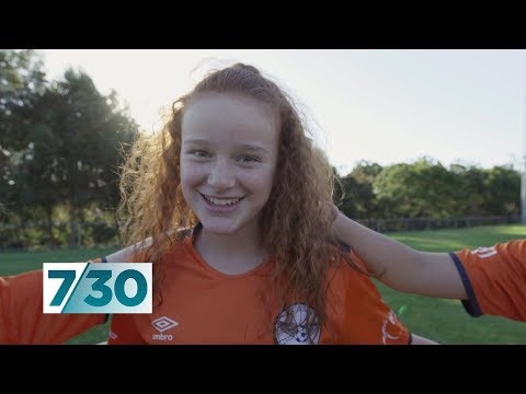 Twelve-year-old Girl Leading Fight For Equality In Soccer | 7.30