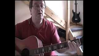 I Recall A Gypsy Woman - Guitar Lesson - Acoustic Cover - Don Williams - (By Pete Winnett)