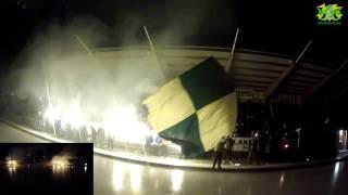 Bandy World Cup Ljusdals BK - Bollnäs Gif GoPro Helmet Cam Lightnings Tifo