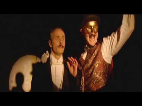 Actor Justin Ellis -Johnson: Casting Clip- 'flambouyant Circus Ringmaster'