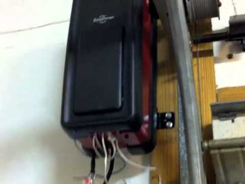 Delicieux Liftmaster 3800 Jackshaft Replaces Old Wayne Dalton Chain Drive Garage Door  Opener