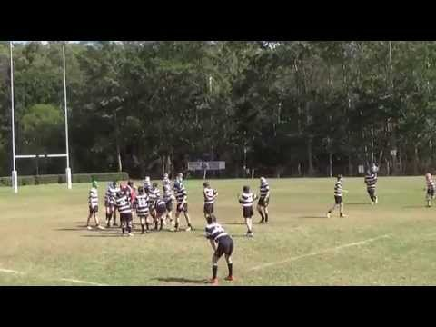 Souths Junior Rugby Union Under 12 Blacks vs Brothers