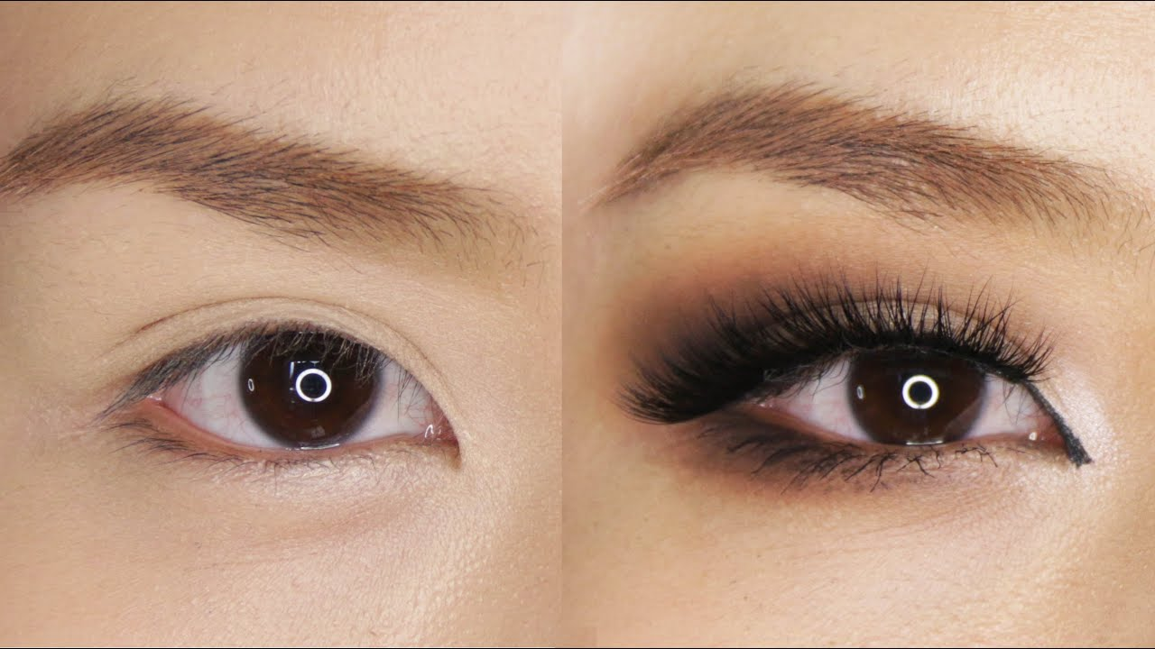 smokey eye makeup for hooded or asian eyes youtube