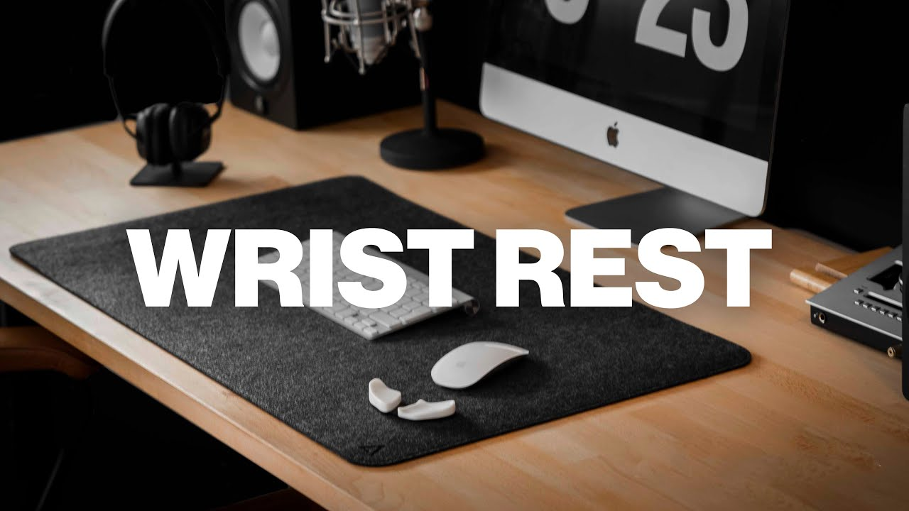 Carpio Ergonomic Wrist Rest // Gray (Small) video thumbnail