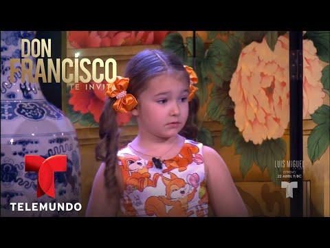 Niña rusa de 5 años pone en práctica su talento   Don Francisco Te Invita   Entretenimiento