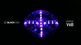 BLACK RGB Light Modes / V6B