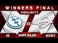 EG vs Secret [EPIC] WB Final MDL Disneyland Paris Major 2019 Highlights Dota 2