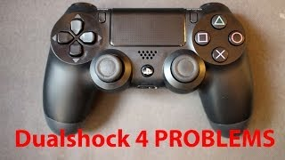 sony playstation dualshock 4 problems