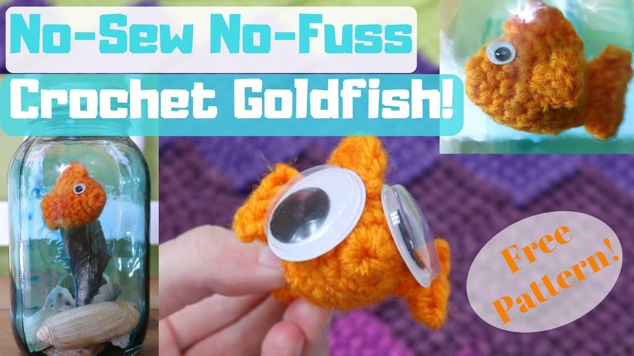 Ravelry: Fancy Goldfish Amigurumi pattern by Kate Wood | 720x1280